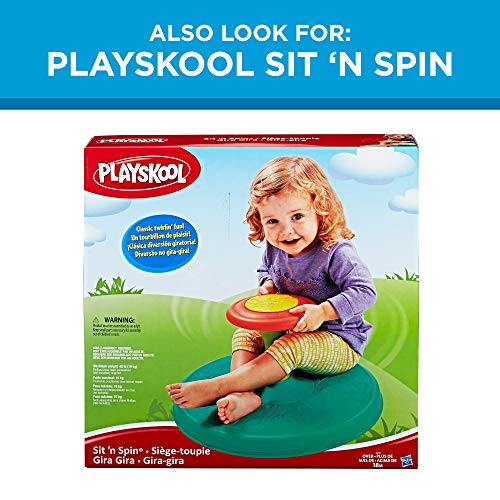 51HHVYQeBiL - Playskool Tumble Top Spinning and Popping Baby Toy for 1 Year Olds and Up (Amazon Exclusive)