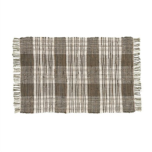 Park Designs 24 Inches x 36 Inches Cotton Dylan Rag Rug Taupe Home Decor by Park Designs