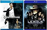 The League of Extraordinary Gentlemen [Blu-ray] + Constantine Comic Sci-fi set
