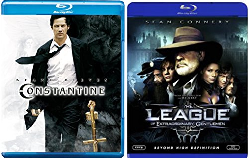 The League of Extraordinary Gentlemen [Blu-ray] + Constantine Comic Sci-fi set