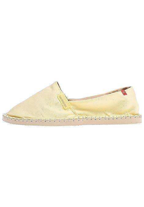 Havaianas 4137014_Poll - Alpargatas de Lona Para Hombre Amarillo Amarillo, Color Amarillo, Talla 43-44 EU: Amazon.es: Zapatos y complementos