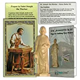 St. Joseph Statue for Selling Homes in Kit with Instructions, Prayer Card, and Tips for Selling Bundle