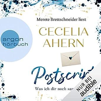 Amazoncom Postscript German Edition Was Ich Dir Noch