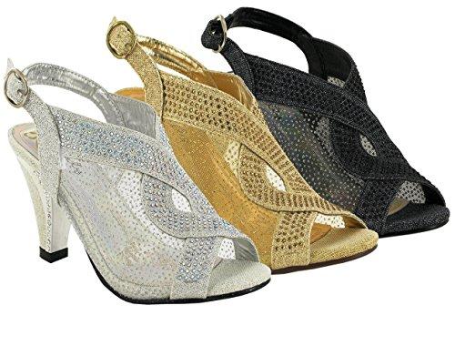 Hot Soles - sandalias mujer dorado