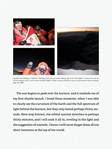 Thumbnail shoveler image - 6 for  The Sky Below: A True Story of Summits, Space, and Speed [Kindle in Motion]