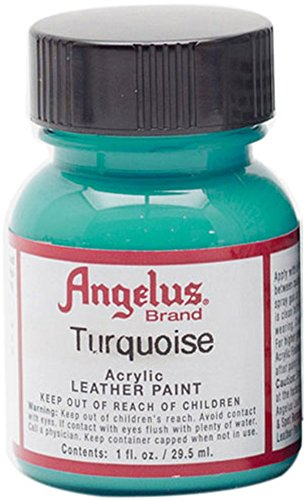 Angelus brand acrylic leather paint water resistant 1 oz for Acrylic paint water resistant