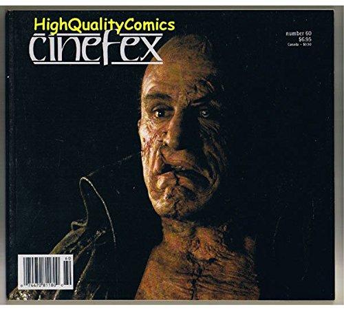 CINEFEX #60, NM-, Frankenstein, Forrest Gump, Mask, 1994, -