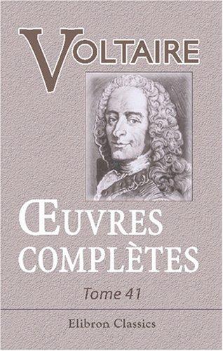 Read Online Œuvres complètes de Voltaire: Nouvelle édition. Tome 41: Correspondance avec d'Alembert (French Edition) pdf epub
