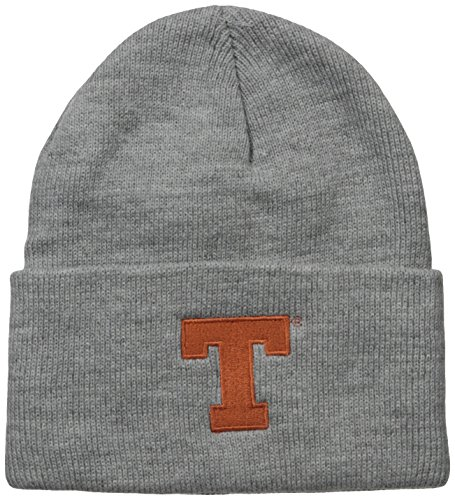 NCAA Texas Longhorns Acrylic Watch Hat, Heather Gray, One Size