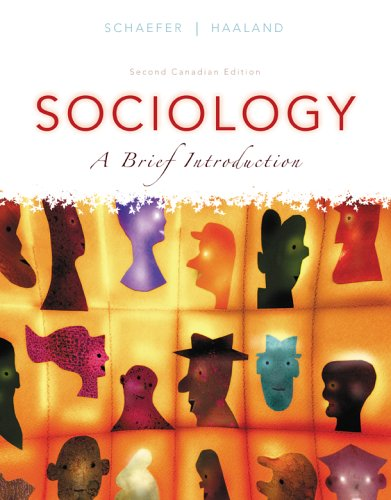 Sociology a Brief Introduction Canadian