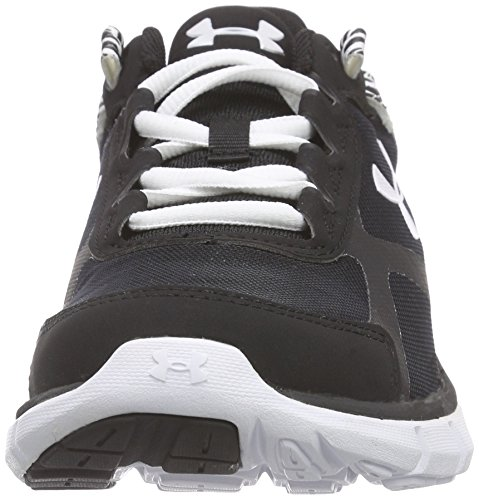 Under Armour Ua W Micro G Velocity Rn - Zapatillas de running Mujer Negro (BLK/WHT/WHT 2)