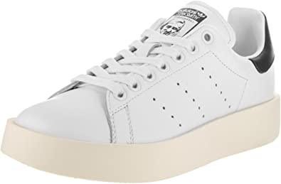 Aprovechar Viva miel  Amazon.com | adidas Originals Women's Stan Smith W Fashion Sneaker,  Black/White/Navy 10 | Fashion Sneakers