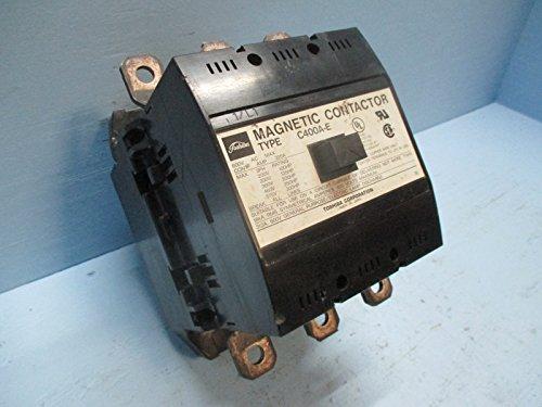(C400A-E 300HP 600VAC 320A 3Phase 3Pole 100 to 240VAC 100 to 220VDC Coil Magnetic Contactor)