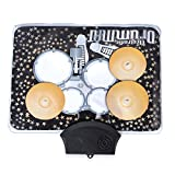 Shop LC Multi Color 7 Types of Sound Music Drum Playing Mat 3xAAA Batteries Not Included 13.4x9.8