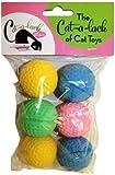 Cat-A-Lack 6-Piece Foam Balls for Pets, My Pet Supplies