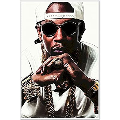 MOTIVATION4U 2 Chainz (Formerly Tity Boi), an American Rapper, Tauheed EPPS, one-Half of The Southern Hip hop Duo Playaz Circle 12 X 18 inch Poster