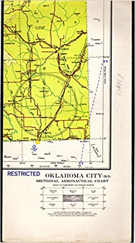Map Oklahoma City Oklahoma R 5 Sectional Aeronautical Chart - Us-map-oklahoma