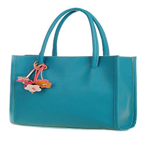 femme bleu Vincenza bleu pour Cabas Bleu Uw1Zv1