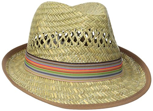 san-diego-hat-company-womens-fedora-with-grossgrain-trim-natural-multi-one-size
