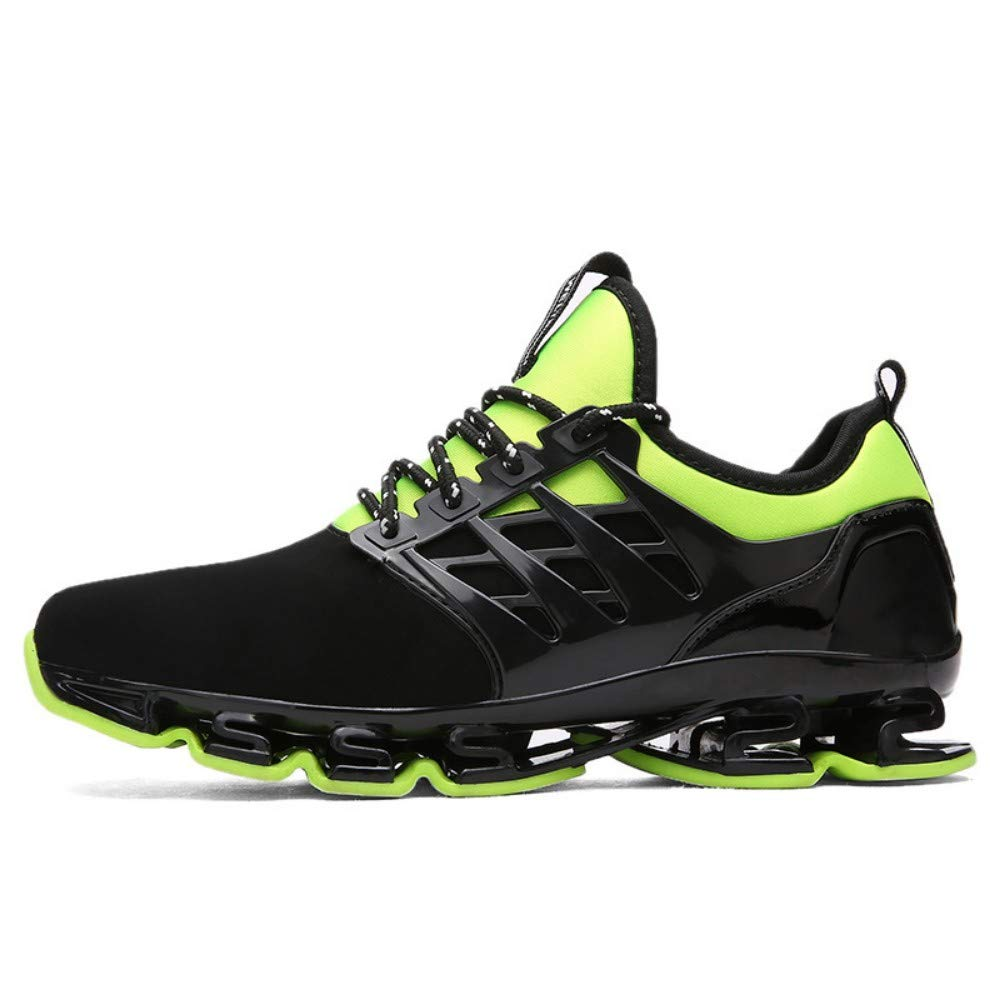 Acquista online on, Tidal Shoes Casual Shoes, Male Flying Mesh Breathable Running Shoes, Net Shoes, Green, 45 miglior prezzo offerta