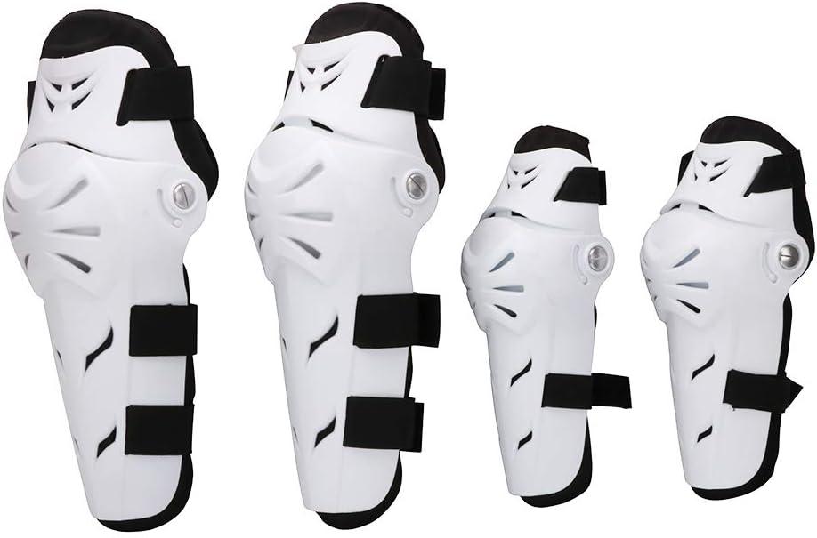 2 pi/èces Rosvola Prot/ège-Coudes pour Protections de coude de Protection de Motocross