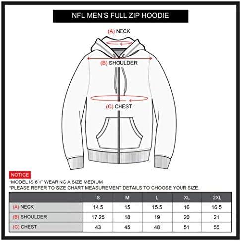 Ultra Game Men's Full Zip Soft Fleece Raglan Hoodie