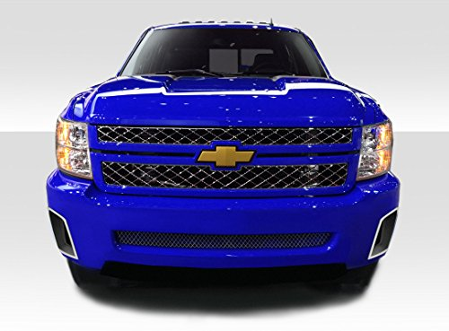 Duraflex Replacement for 2007-2013 Chevrolet Silverado SS Look Front Bumper - 1 - Bumper Piece 1 Front