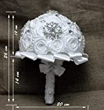 Bride di fiori, bouquet da sposa, fiori artificiali, personale Tailor-XT-3063 1#