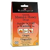 WEDDERSPOON Organic Manuka Honey Drops (Ginger - 120 Gr)