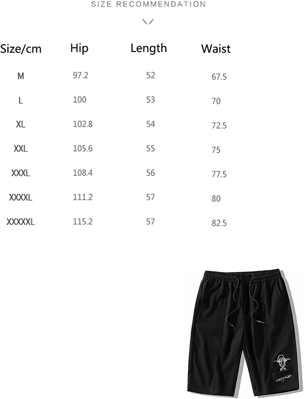 Mens Casual Shorts Classic Drawstring Elasticated Waist Summer Beach Shorts for Men