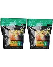 RoudyBush Daily Maintenance Bird Food, Crumbles, 44-Ounce, Bird Food, Pack of 2