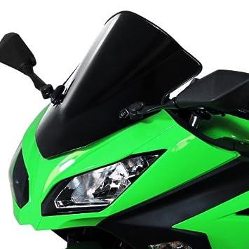 Racingscheibe MRA Kawasaki Ninja 300 13-16 schwarz