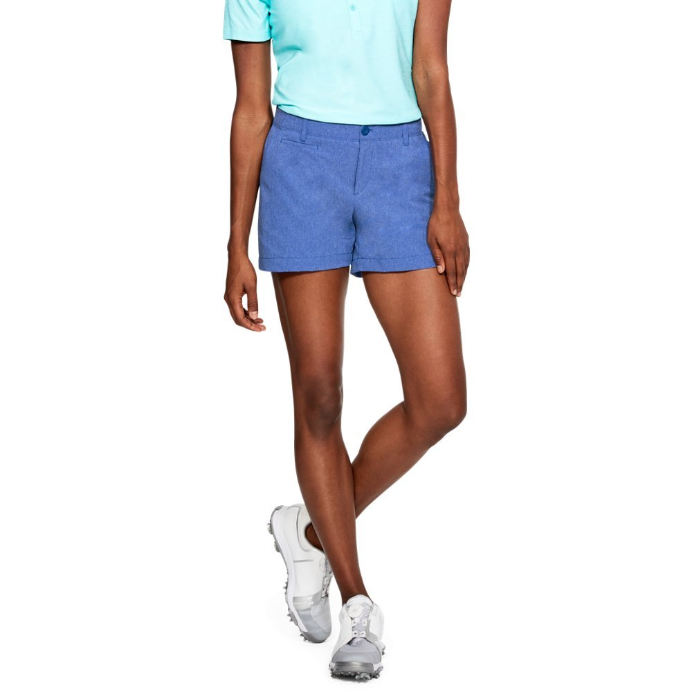 Under Armour Women's Links Vented 4'' Shorts, Jupiter Blue (584)/Jupiter Blue, 8 by Under Armour