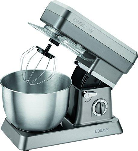 4004470039801 EAN - Bomann Km 398 Cb Robot De Cuisine, Titane | UPC