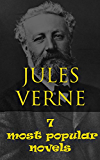 JULES VERNE: 7 most popular novels- 20000 Leagues Under the Seas, A Journey to the Interior of the Earth, From the Earth to the Moon, Around the World in 80 Days, The Mysterious Island and more...