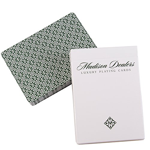 Ellusionist Madison Dealers Marked Playing Cards, Green - by Daniel Madison ()