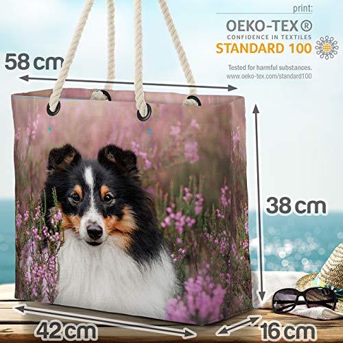 VOID Sheltie strandväska Shopper 58 x 38 x 16 cm 23 L XXL shoppingväska väska resväska Beach Bag