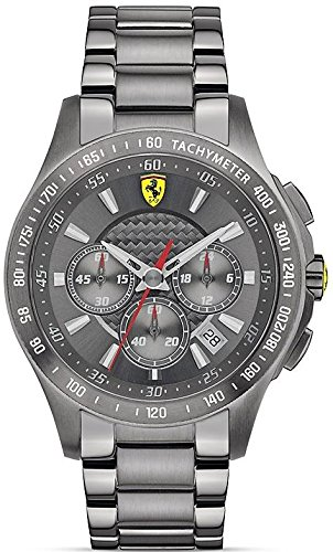 Ferrari Scuderia Grey Ion Mens Watch 0830096