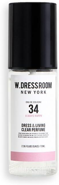 W.Dressroom Perfumes Air Fresheners Home Fragrances Sprays 70ml [34.Always Happy]