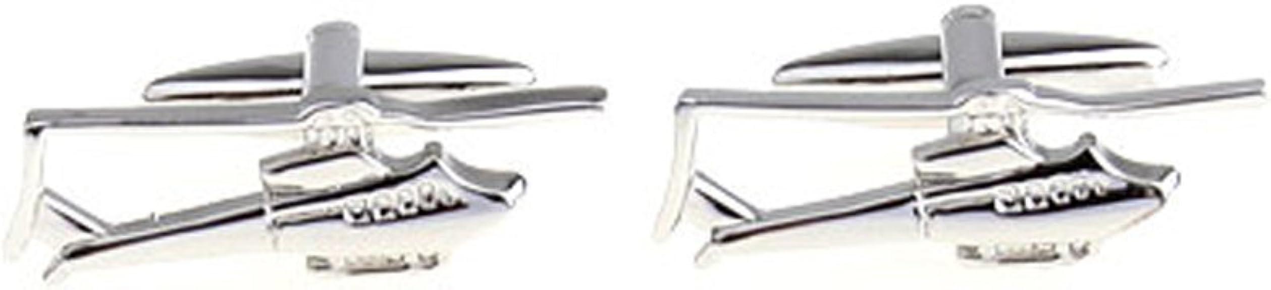 CIFIDET Gemelos de Plata Metal Moda Hombre Camisa joyer/ía con Caja de Regalo
