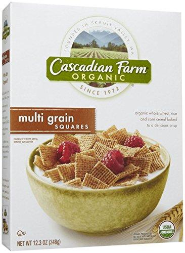 Cascadian Farms Organic Multi Grain Squares - 12.3 oz