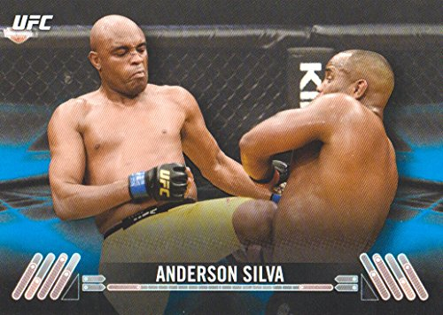 2017 Topps UFC Knockout Blue #5 Anderson Silva 36/99