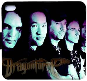 Wunatin Flip Case,DragonForce iPhone 5/5S/SE Leather Wallet Case [with Free Touch Stylus Pen] BA-8777732