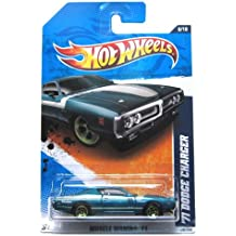 2011 Hot Wheels '71 Dodge Charger Teal #108/244