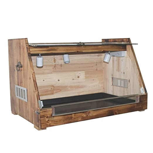 Vivarium terrario Box, Reptil Hábitat Tanque - Cat Dog Box Caja de ...
