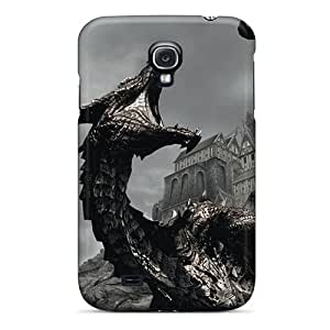 [BIN5394ZnbQ]premium Phone Cases For Galaxy S4/ The Elder Scrolls V Skyrim Cases Covers