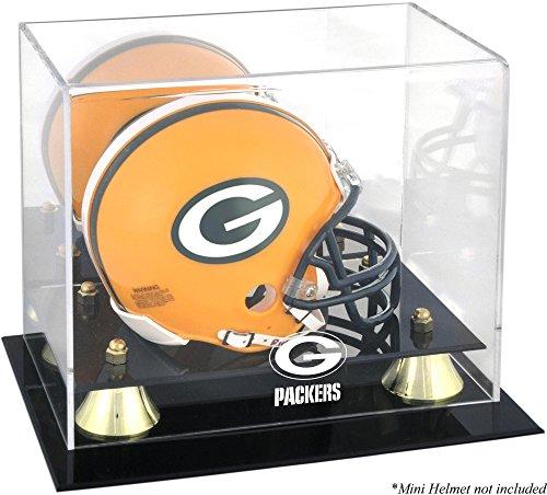 Mounted Memories Green Bay Packers Mini Helmet Display (Mounted Memories Green)