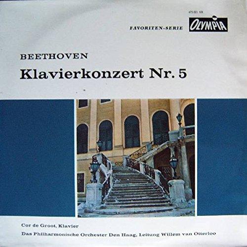Ludwig van Beethoven - Cor De Groot, The Hague Philharmonic, Willem Van Otterloo - Klavierkonzert Nr. 5 - Olympia - 675 001 KR, Orpheus - 675 001 KR