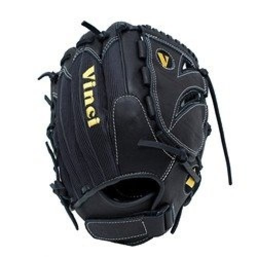 Vinci Softball Gloves - Vinci Fast Pitch TC21-VM Softball Glove Infield / Baseball Outfield with Mesh and Solid Web (12-Inch) (Left-Handed Throw)