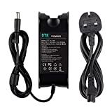 Dtk Ac Adapter Laptop Computer Charger/Notebook Pc Power Supply Source Plug for Dell Output: 19.5V 3.34A 65w Tips:7.4mmX5.0mm Power cord included